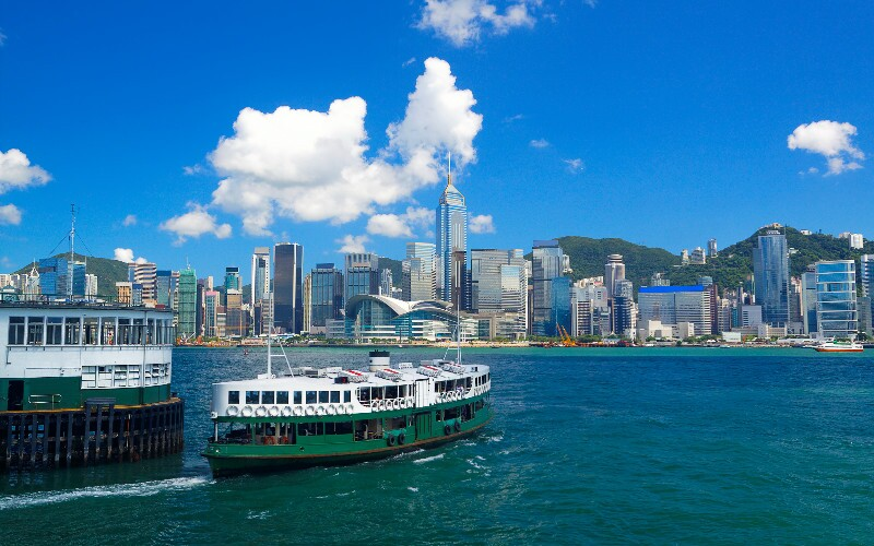 Ferries Between Hong Kong and the Nearby Cities