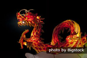 fire dragon dance