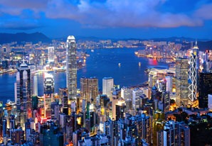 Hong Kong night scenery