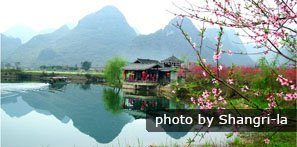 Scenery in march in Guilin