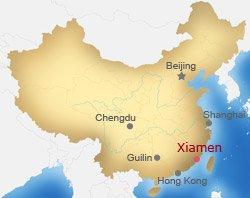 Xiamen Map Map Of Xiamen Xiamen China Map Xiamen City