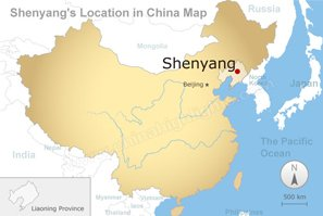 Shenyang Maps