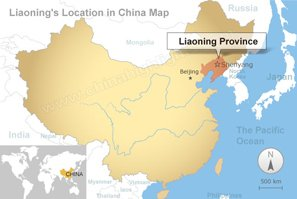 Liaoning Map