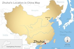 Zhuhai China Map Map of Zhuhai, Zhuhai China Map, Zhuhai City Map, China Highlights
