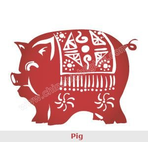 The Chinese Zodiac Sign Pig