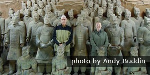 China Highlights customers, the Terracotta Army, Xi'an