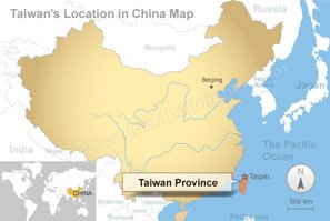 Taiwan Maps