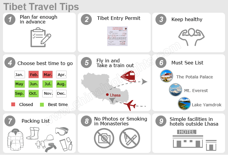 tibet travel tips