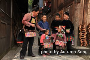 miao minority people