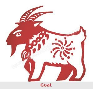 Chinese Zodiac: the year of Goat
