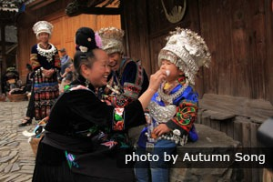 People of Langde Miao Village