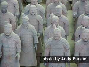 The Terracotta Army in Xi'an