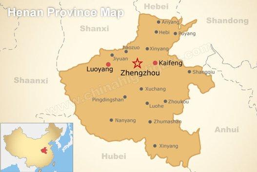 Henan Province Map