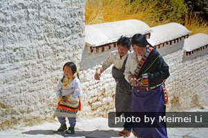 Customs for women in Tibet