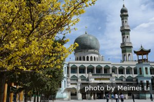 A mosque in China