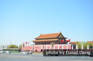 Tian'anmen from the National Museum of China