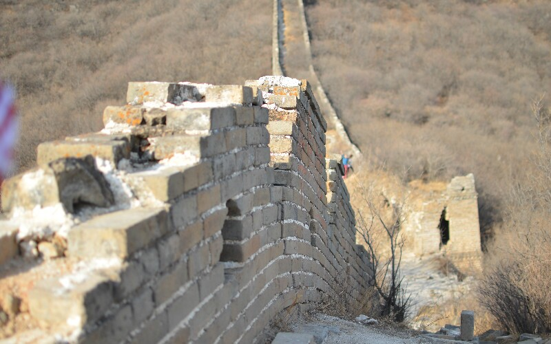 The Great Wall of the Qin Dynasty