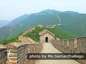 The Mutainyu Great Wall section