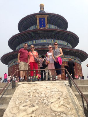 China Highlights customers at the Temple of Heaven