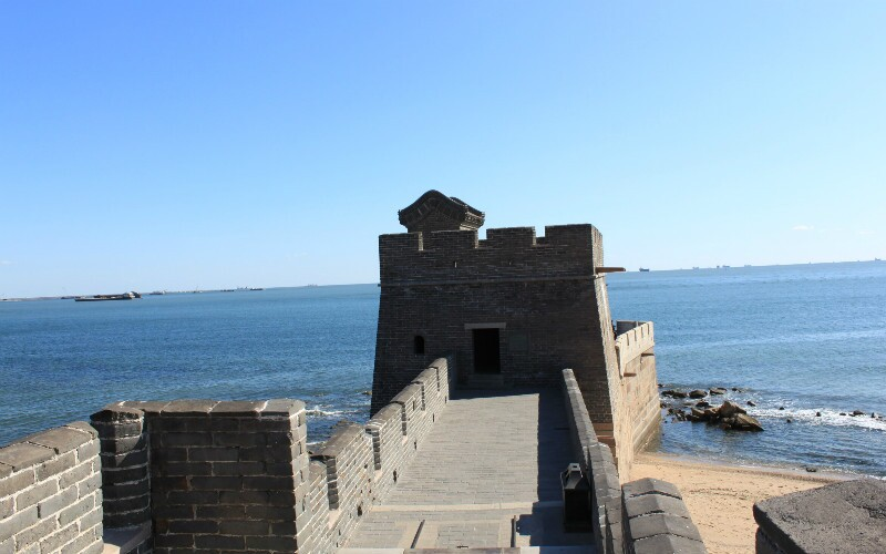 The Laolongtou Great Wall Section ('Old Dragon's Head')