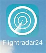 Flight Radar app