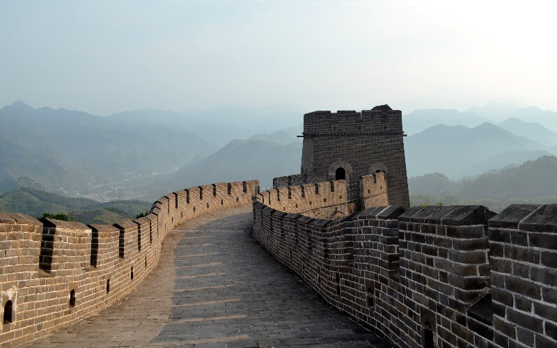 The Great Wall at Huangyaguan - Longest Restored Section, Marathon Venue