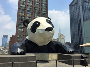 The World's 2 Giant-est Pandas — Giant Panda Structures in China
