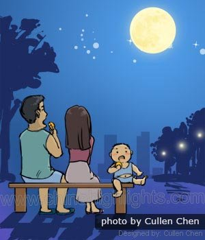Appreciating the moon runs deep in Chinese culture
