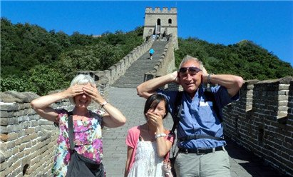 visit the great wall with kids