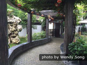 Garden-style hotel in Tongli