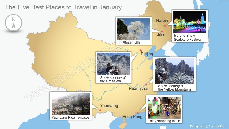 China 39 s best 6 places in january where to travel in for Where to vacation in january