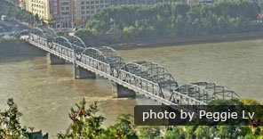 Zhongshan Iron Bridge in Lanzhou