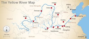 The Geography of the Yellow River