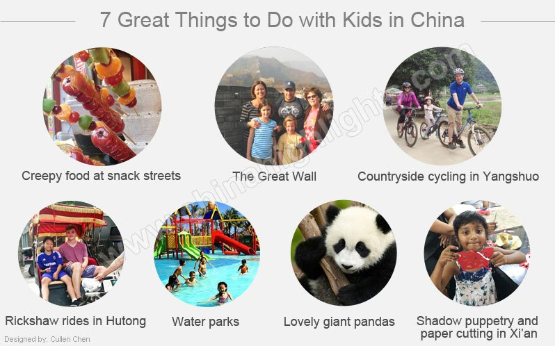 7 family activities in china