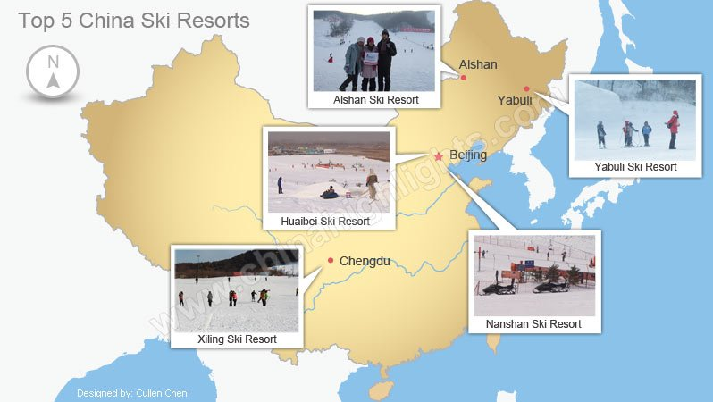 Top 5 China Ski Resorts Best Places for Skiing in China