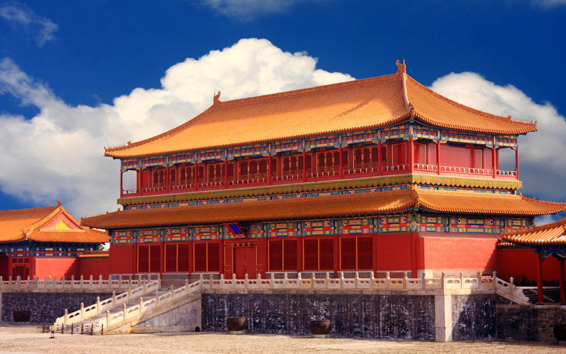 Hall of Preserving Harmony(Baohe Dian)