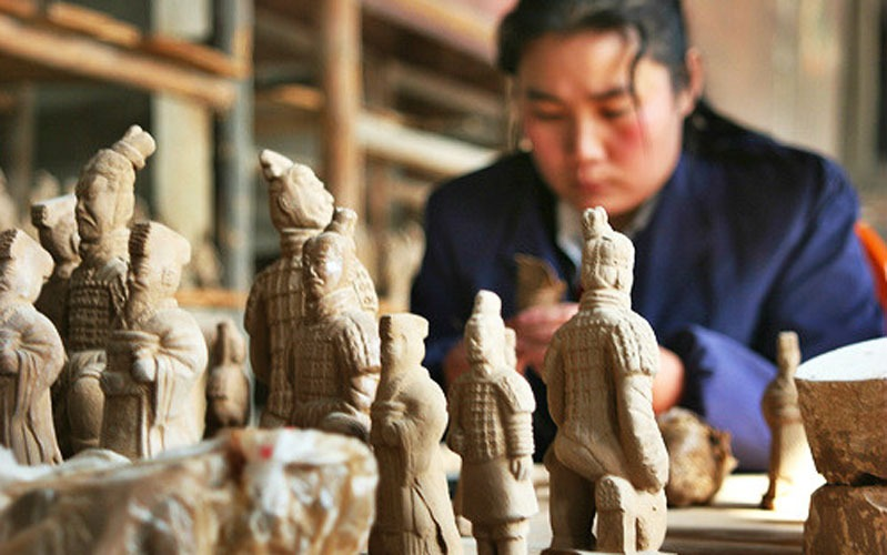 How the Terracotta Army Was Made and Its Composition