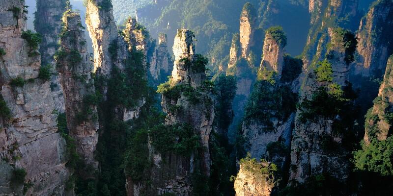 Stunning Zhangjiajie National Forest Park