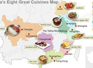 Chinese Food Regional Cuisines