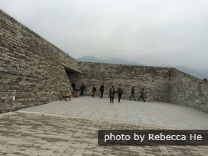 The mausoleum of Qin Shihuang