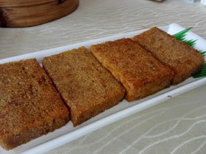 Fried yellow cake