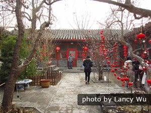 Chinese New Year in Beijing Hutong
