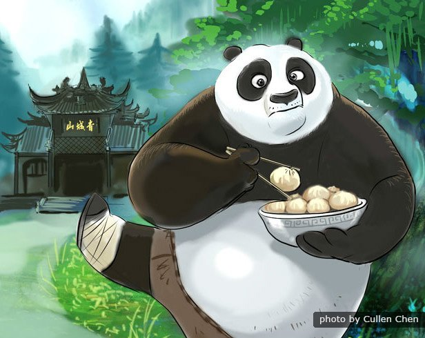 'Kung Fu Panda 3' Takes You to a Magical Hidden Panda Village