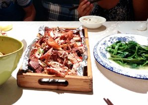 Roasted rabbit, Zhuanzhuan Mo, Chengdu