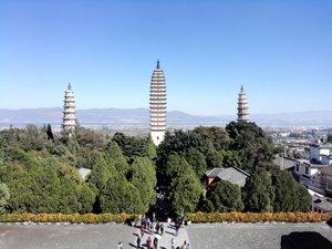 Three Pagodas at Dali