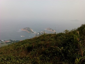 Shek O from the Dragon's Back trail