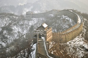 the Great Wall in December