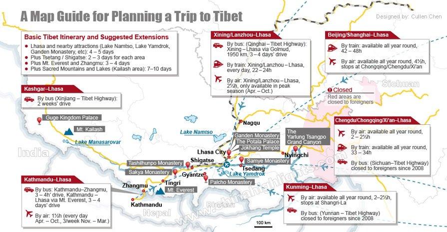 plan a tibet tour
