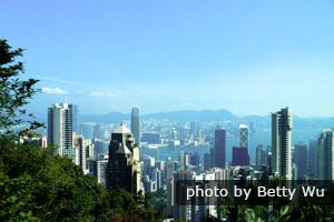 Great view on Victoria Peak