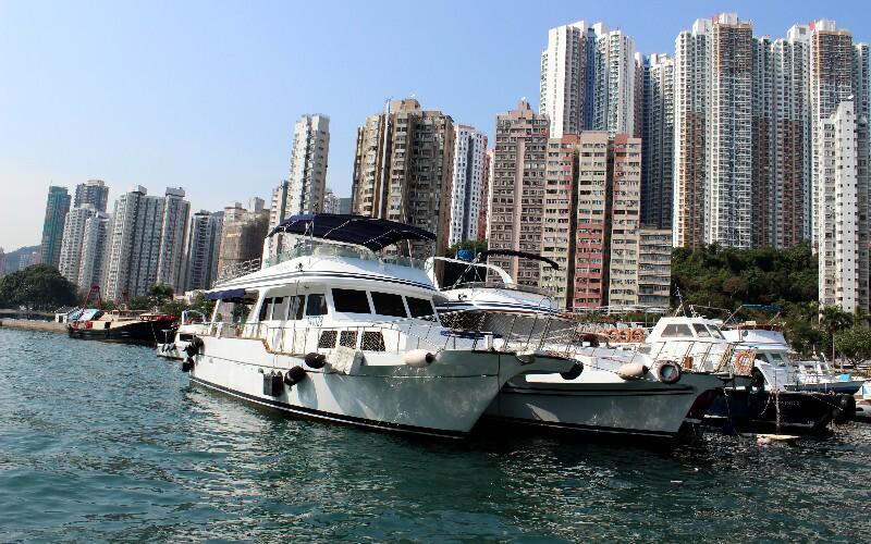 Chartering a Boat in Hong Kong